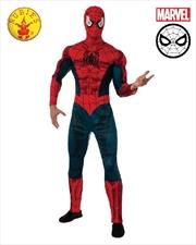 Spiderman Adult Costume: XL | Apparel