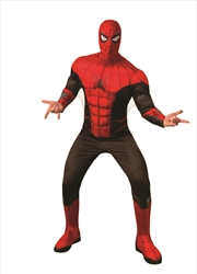 Adult Spider-Man: Far From Home Deluxe Spider-Man Red/Black Suit Costume - Size XL | Apparel