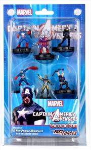 Heroclix - Captain America / Avengers Fast Forces | Merchandise