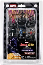Heroclix - Avengers Black Panther and Illuminati Fast Forces 6-pack | Merchandise