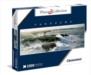 Blast Of Wind Pointe Des Poulains 1000 Piece Puzzle | Merchandise
