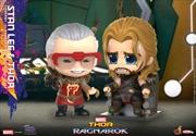 Thor 3: Ragnarok - Thor & Stan Lee Cosbaby | Merchandise