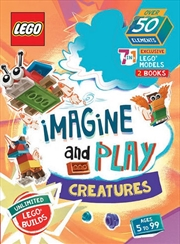 Lego Imagine And Play: Creatures   Books