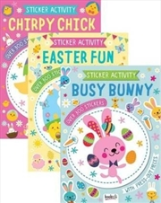 Easter Sticker And Activity Assorted | Books