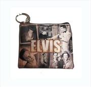 Elvis Key Chain Coin Purse   Apparel