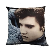 Elvis Pillow Blue Sweater | Homewares