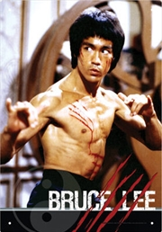 Bruce Lee Tin Sign | Merchandise