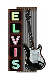 Elvis Metal Sign Guitar | Merchandise