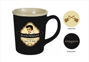 Elvis Mug Shield Embossed | Merchandise
