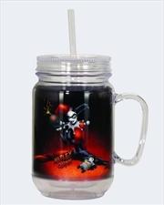 Harley Quinn W/Bomb Mason Jar | Merchandise