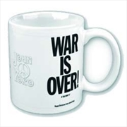 John Lennon War Is Over Mug | Merchandise