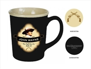 John Wayne Mug Shield Embossed | Merchandise