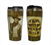 John Wayne Travel Mug | Merchandise