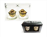 John Wayne Whiskey Glass Boxed | Merchandise