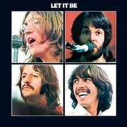 Let It Be Metal Wall Sign | Merchandise