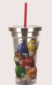 M And Ms Cup With Straw | Merchandise