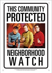 Protected By Star Trek Sign | Merchandise