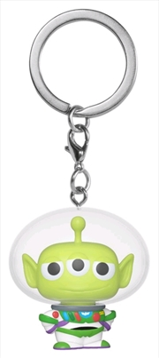 Pixar - Alien Remix Buzz Pocket Pop! Keychain | Pop Vinyl