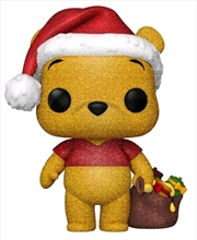 Winnie the Pooh - Pooh Diamond Glitter Holiday US Exclusive Pop! Vinyl [RS] | Pop Vinyl