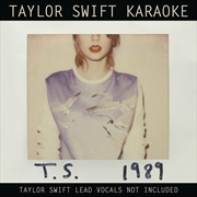 Taylor Swift Karaoke - 1989 | CD