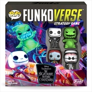 Funkoverse - The Nightmare Before Christmas 100 4-pack Board Game | Merchandise
