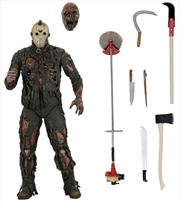 "Friday the 13th Part 7 - Jason New Blood 7"" Action Figure 