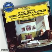 Or: Strauss R Sinfonia Domestica   CD