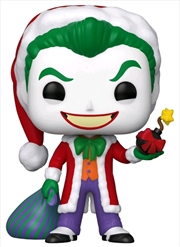Batman - Joker Santa Holiday Pop! Vinyl | Pop Vinyl