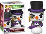 Batman - Penguin Snowman Holiday US Exclusive Pop! Vinyl [RS] | Pop Vinyl