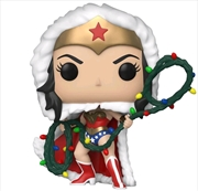 Wonder Woman - Wonder Woman with Lights Lasso Holiday Pop! Vinyl | Pop Vinyl