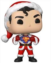 Superman - Superman Sweater Holiday Pop! Vinyl | Pop Vinyl