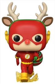 Flash - Flash Rudolph Holiday Pop! Vinyl | Pop Vinyl
