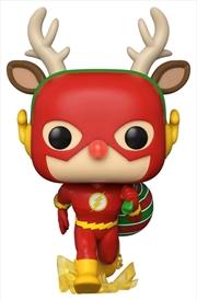 Flash - Flash Rudolph Holiday Pop! Vinyl | Pop Vinyl