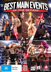 WWE - Best Of Main Events Of The Decade 2010-2020 | DVD