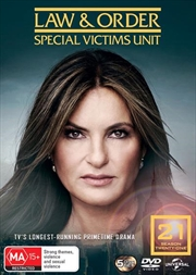 Law And Order - Special Victims Unit - Season 21 | DVD
