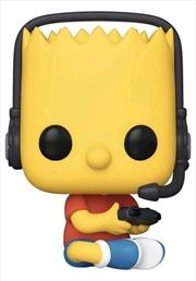 The Simpsons - Gamer Bart US Exclusive Pop! Vinyl [RS] | Pop Vinyl