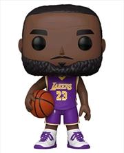 "NBA: Lakers - LeBron James Purple Jersey 10"" Pop! Vinyl | Pop Vinyl"