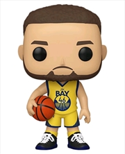 NBA: Warriors - Steph Curry (alternate) Pop! Vinyl | Pop Vinyl