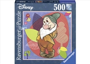 Disney Bashful Square 500 Piece Puzzle | Merchandise