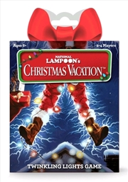 National Lampoon's Christmas Vacation - Twinkling Lights Card Game | Merchandise
