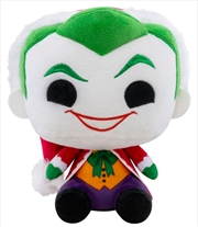 Batman - Santa Joker Holiday Plush | Toy
