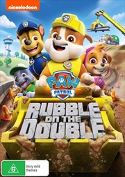 Paw Patrol - Rubble On The Double! | DVD