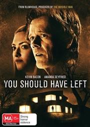 You Should Have Left   DVD
