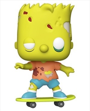 Simpsons Bart Zombie Pop! Vinyl | Pop Vinyl