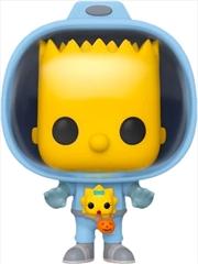 Simpsons - Bart Simpson with Chestburster Maggie Pop! Vinyl | Pop Vinyl
