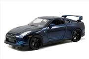 Fast & Furious - Brian's 2009 Nissan GT-R (R35) 1:24 Scale Hollywood Ride | Merchandise