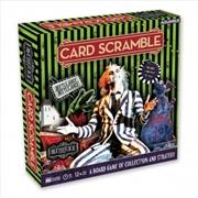Beetlejuice Card Scramble | Merchandise