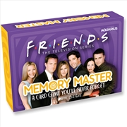 Friends Edition Memory Master Card Game | Merchandise