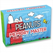 Peanuts Memory Master Card Game | Merchandise