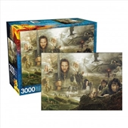 Lord Of The Rings Saga - 3000 Piece Puzzle | Merchandise